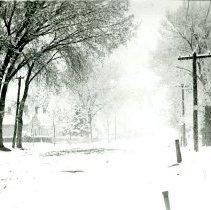 Image of Snow on Garrison Street