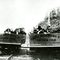 Image of Castle Rock Scenic rail cars
