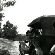 Image of Car parked along a road