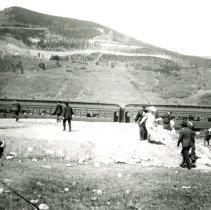 Image of Train at Corona Pass