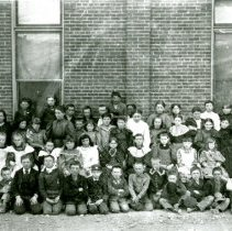 Image of Fourth graders at North School