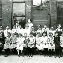 Image of Fifth graders at North School