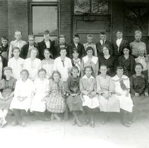Image of North School class portrait