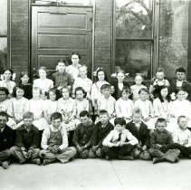 Image of Ms. Rowe's class at South School