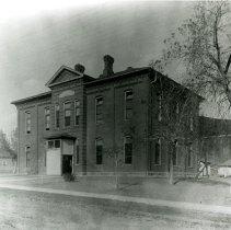 Image of North School circa 1880