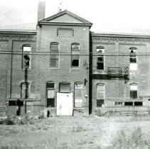 Image of North School before destruction