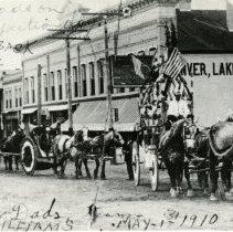 Image of John T. Williams' horses