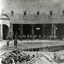 Image of Workers at the Roundhouse