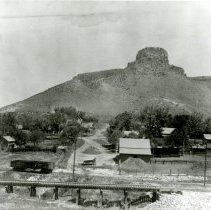 Image of Castle Rock and residences