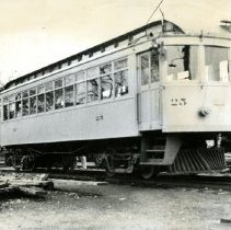 Image of Trolley car number 25