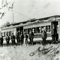 Image of Seeing Foot Hills trolley car 63