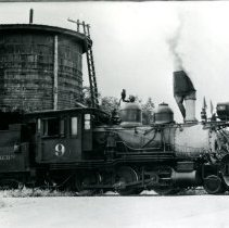 Image of C & S Railroad engine 9