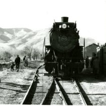 Image of C & S Railroad engine number 801