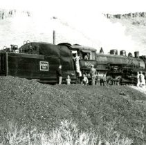 Image of C & S Railroad engine 801