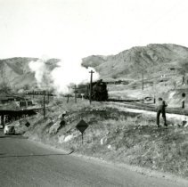 Image of C & S Railroad engine 801