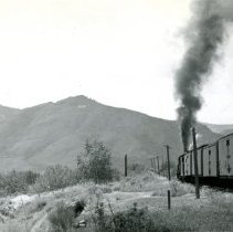 Image of C $ S train heading west