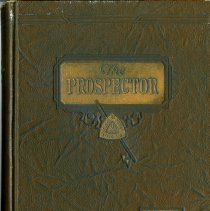 "Image of Colorado School of Mines yearbook ""The Prospector"" dated 1932."