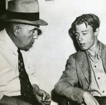 Image of Sheriff Howard Vincent with William Wymer