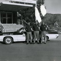 Image of 1970 Sheriff's Department Patrol Division Command Staff