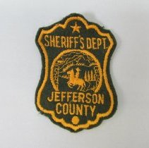 Image of 1970 Jefferson County Sheriff's (Colorado) uniform blouse patch