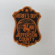 Image of 2008.010.149 - Patch, Law Enforcement