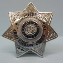 Image of 2008.010.162 - Badge, Law Enforcement