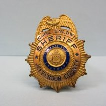 Image of 2008.010.165 - Badge, Law Enforcement