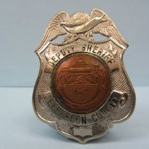 Image of 2008.010.166 - Badge, Law Enforcement