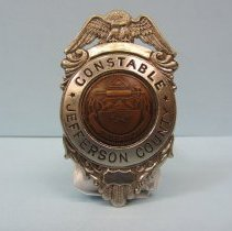Image of 1930 Jefferson County Constable Badge