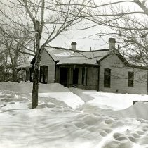 Image of House after 1913 blizzard