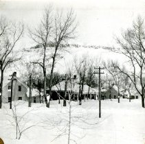 Image of Houses after 1913 blizzard