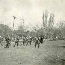 Image of Armistice Day Parade in Golden