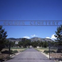 Image of Golden Cemetery arch
