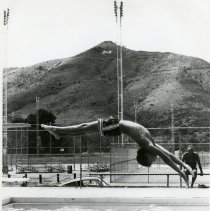 Image of Diving into Rec Center pool