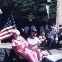 Image of JoAnn Thistlewood as grand marshal