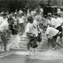 Image of Buffalo Bill Days bucket brigade