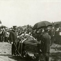 Image of Buffalo Bill's funeral