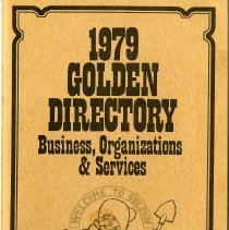 Image of 1979 Golden directory cover