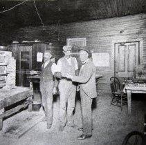 Image of John Emory Benjamin at assay office