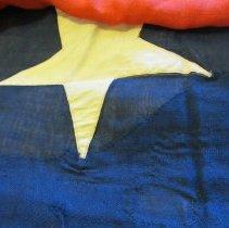 Image of Koenig flag detail