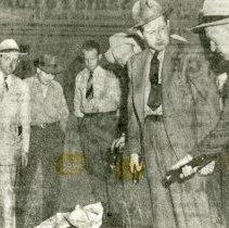 Image of Michael Randolph murder scene 1947