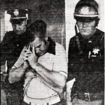 Image of Haywood Lawson and his extradition 1973