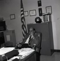 Image of Carl Myers, Civil Defense Director
