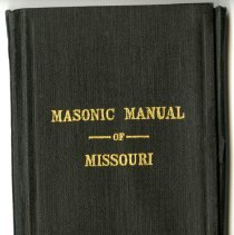 Image of Masonic Manual of Missouri