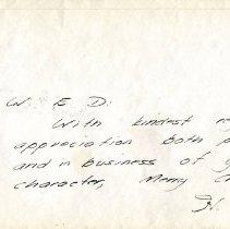 Image of 2009.002.032 - Envelope
