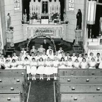 Image of First communion at St. Joseph Catholic Church