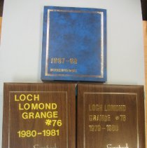 Image of Box 631 scrapbooks
