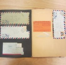 Image of First page of Wendell Fertig scrapbook