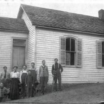 Image of Graduating class at Guy Hill Schoolhouse