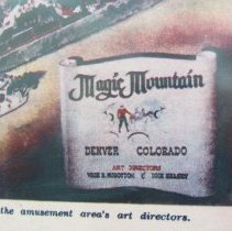 Image of Magic Mountain drawing legend